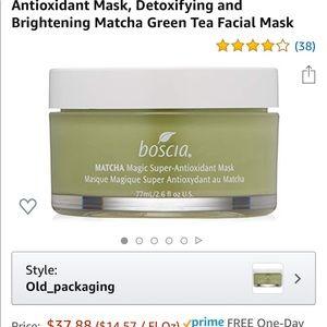 Boscia matcha mask